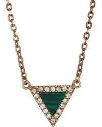 Loren Hope - Triangle Necklace - Lyst