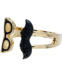 Kate Spade - Dress The Part Mustache Wrap Ring - Lyst