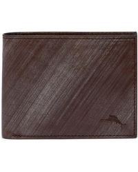 Tommy Bahama - Brush Off Slimfold Leather Wallet - Lyst