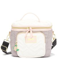 Betsey Johnson - Heart Quilted Lunch Tote - Lyst