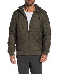 80e799729091 Lyst - The North Face Alphabet City Quilted Jacket in Blue for Men