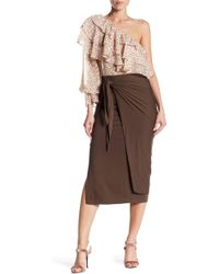 Dress Forum - Asymmetric Skirt - Lyst