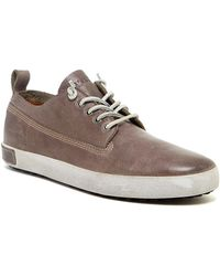 Blackstone - Low Top Leather Trainer - Lyst