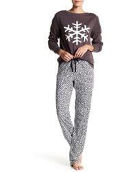 Love+Grace - Emma Leopard Pajama Pants - Lyst 4de5f0ea4