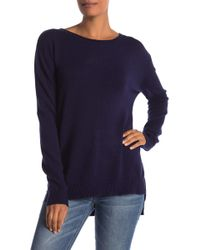 Philosophy Apparel - Long Sleeve Crew Neck Sweater - Lyst