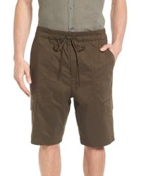 Vince - Drawstring Utility Shorts - Lyst
