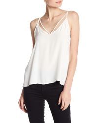 Lush - Woven Strappy Basic Cami - Lyst