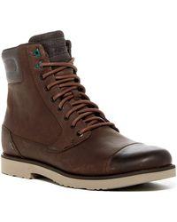 Teva Durban Tall Leather Boot - Brown