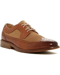 G.H.BASS - Clinton Wingtip Oxford - Lyst