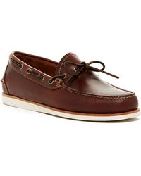 G.H.BASS - Ackley Boat Shoe - Lyst