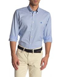 Brooks Brothers - Checkered Long Sleeve Regular Fit Shirt - Lyst