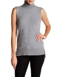 Three Dots - Hi-lo Sleeveless Sweater - Lyst