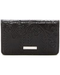 Lodis - Denia Mini Embossed Leather Card Case - Lyst