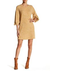 Soprano - Bishop Sleeve Shift Dress - Lyst