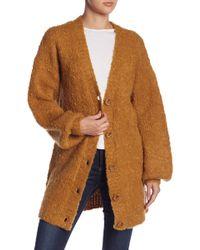 Tularosa - Clementine Wool Blend Cardigan - Lyst
