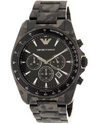 Emporio Armani - Men's Quartz Sport Bracelet Watch, 43mm - Lyst