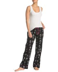 acdba51989a Pj Salvage - Great Minds Drink Alike Flannel Pajama Pants - Lyst