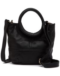 Cut N' Paste - Soho Leather Crossbody Bucket Bag - Lyst