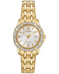Citizen - Women's Diamond Accented Eco Drive Watch - 0.0053 Ctw - Lyst