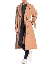 520de3653b8b Juicy Couture Hard Woven Boulevard Leopard Coat in Black - Lyst