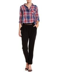 Skies Are Blue - Belted Pant - Lyst