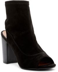 Rampage - Tionna Peep Toe Boot - Lyst