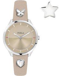 Furla - Women's Pin Analog Quartz Watch, 38mm - Lyst