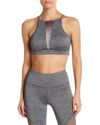 C&C California - Ombre Mesh Panel Sports Bra - Lyst