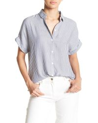 Beach Lunch Lounge - Spencer Stripe Blouse - Lyst