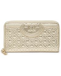 Freida Rothman - Quilted Leather Wallet - Lyst