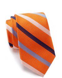 Tommy Hilfiger - Silk Tricolor Stripe Tie - Lyst