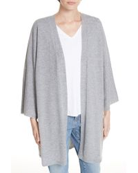 15df011036b9 Lyst - Eileen Fisher Sequin Merino Wool Cardigan (regular & Petite ...
