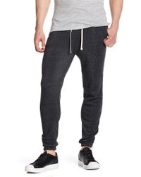 Alternative Apparel | Saturday Zip Hem Joggers | Lyst