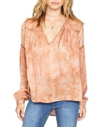 Amuse Society - Washed Out Top - Lyst