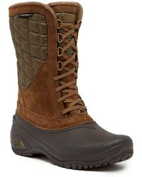 The North Face - Thermoball Utility Mid-calf Suede Boot - Lyst