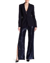 Wow Couture - Sequin Slit Pants - Lyst