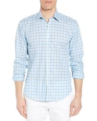 Jeremy Argyle Nyc - Slim Fit Check Sport Shirt - Lyst
