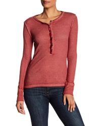 Lucky Brand - Washed Thermal Jumper - Lyst