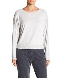 Room Service - Pajama Long Sleeve Top - Lyst