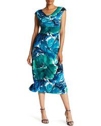 Connected Apparel - Jewel Neckline Garden Dress - Lyst