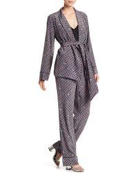 e584e1f415 Equipment - Odette Silk Pajama 2-piece Set - Lyst
