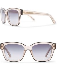 Fossil - Women's 54mm Squared Sunglasses - Lyst