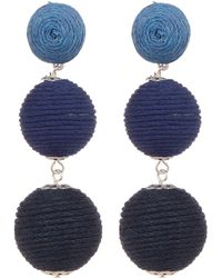 Joe Fresh - Large Ball Drop Earrings - Lyst