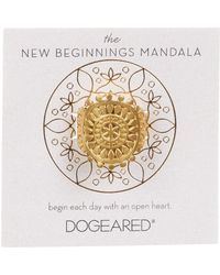 Dogeared | The New Beginnings Mandala Ring | Lyst