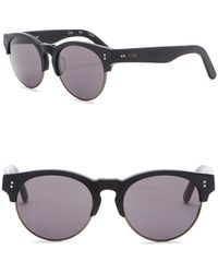 TOMS - Charlie Rae 52mm Clubmaster Sunglasses - Lyst