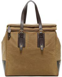 Belstaff - Dorchester Leather Trim Large Satchel Bag - Lyst