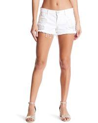 Siwy - Blondie Frayed Hem Shorts - Lyst