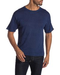 Saturdays NYC - Pacho Linen Short Sleeves Sweater - Lyst