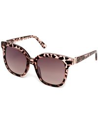 Guess - 54mm Oversized Sunglasses - Lyst