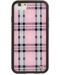 Wildflower - Tartan Plaid Iphone 6/7/8 Case - Lyst